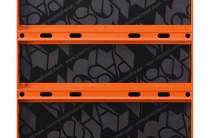 Das NeoR-Grundelement 90 x 150 cm mit jeweils vier innenliegenden Spannstellenöffnungen bietet vielseitige Einsatzmöglichkeiten.