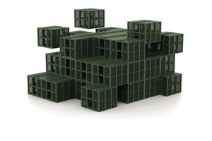 Moderne Rigolen verfügen über ein Speichervolumen über 95 % und lassen sich modular zu unterschiedlichen Geometrien zusammenfügen.