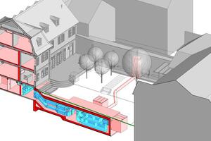 3D-Gebäudedatenmodell.