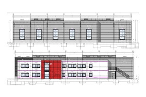 Im Auftrag der Trendhouse GmbH errichtete Brüninghoff einen Neubau, der Produktion, Lager und Verwaltung miteinander verknüpft.