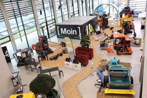 Kompaktmaschinen und Anbaugeräte  decken viele Anwendungen ab.