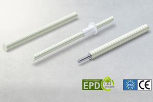 Die Isolink Produktfamilie sowie Combar haben die European Product Declaration (EPD) erhalten. Für den Isolink Typ C für Betonfassaden liegt zudem die Europäische Technische Zulassung (ETA) vor.