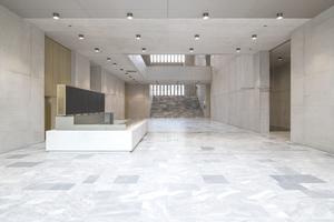 Das moderne Museumsgebäude zeichnet sich durch hervorragende Sichtbeton-ergebnisse im gesamten Gebäude aus.