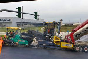 Ohne Unterstützung durch den Mietpark von Rüko hätte das Projekt nicht pünktlich fertiggestellt werden können.