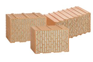 Moderne Mauerziegel mit integrierter Dämmstoff-Füllung erfüllen auch höchste KfW-Effizienzhausstandards – und zwar ganz ohne außenliegende Zusatzdämmung.