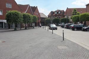 Durch die Neugestaltung hat der Drensteinfurter Marktplatz an Attraktivität gewonnen.