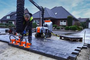 Die neuen Ansaugplatten sind für kleinere Baustellen geeignet.