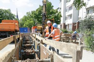 Entsprechend der Güte- und Prüfbestimmungen besuchen die Prüfingenieure regelmäßig die Baustellen der Mitgliedsunternehmen.