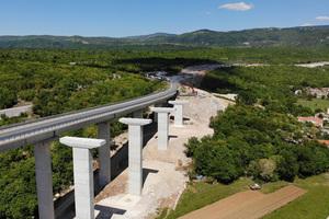 """Das Autobahnprojekt """"Istrisches Ypsilon"""" ist mit einem Volumen von insgesamt 800 Millionen Euro eines der größten Infrastrukturprojekte in Südosteuropa."""