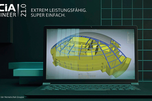 Zeitsparen durch Anpassung: die neue Benutzeroberfläche von Scia Engineer 21