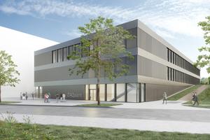 Das neue Zentrum für Angewandte Quantentechnologie ZAQuant der Universität Stuttgart.