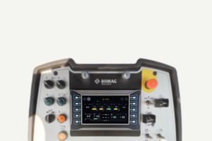 Advanced Pave, das zukunftsweisende digitale Assistenzsystem für Straßenfertiger, bringt die volle Transparenz in das Cockpit.<br />