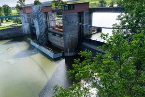 Die Wehranlage Horkheim war im Laufe der Jahrzehnte sanierungsbedürftig geworden.