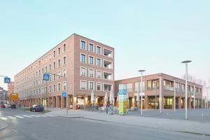 """Der """"Neue Markt"""" bildet ein lebendiges Zentrum für den Ostfilderner Stadtteil Scharnhauser Park."""