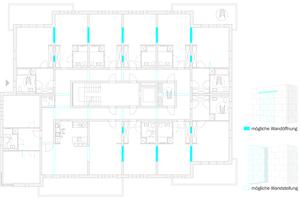 Das KS-Wohnraummodell beweist, dass flexible, zukunftsfähige Grundrisse auch in Massivbauweise errichten lassen.
