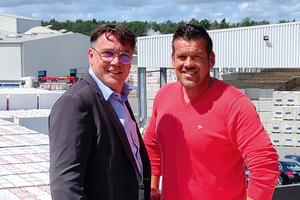 Verstärkung in der Geschäftsführung: Dipl.-Ing. Frank Neumann (rechts) und Karsten Mechau.