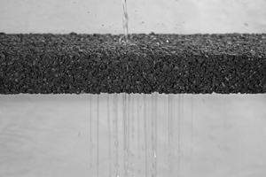Pervia ist ein wasserdurchlässiger Dränbeton.