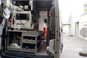 Mithilfe moderner Reinigungs-, Inspektions- und Ortungstechnik werden die Kanalleitungen Meter für Meter erkundet.