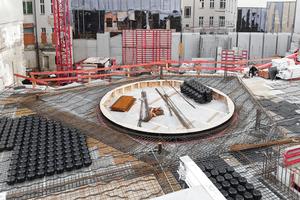 Die Baustelle in exponierter Berliner Lage forderte dem Projektteam präzise Koordination ab.
