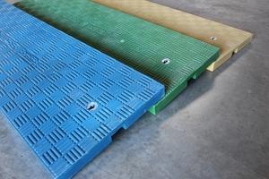 Schachtabdeckungen aus Faserverbundwerkstoff von KHK können in allen RAL-Farben hergestellt werden.<br />