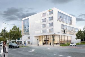 Das neue rund 58 Millionen Euro teure Ausbildungs- und Trainingscenter in Erlangen soll sowohl für die Berufsausbildung der zahlreichen Azubis genutzt werden, als auch für das Training der Servicemitarbeiter von Siemens Healtcare.
