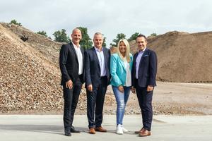 Gemeinsam stark für den Strukturwandel: Matthias und Thomas Wasel, Barbara und Thomas Hagedorn (v.l.n.r.).