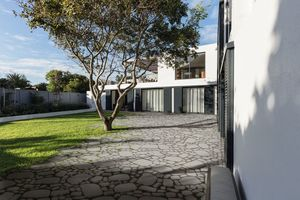 Als bewusst gesetzter Kontrapunkt zu moderner Architektur wirkt eine mit Arena gestaltete Fläche besonders interessant.