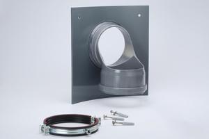 Der Innenliegende Absturz mit rückseitiger EPDM-Dichtung wurde entwickelt, um einen Höhenversatz in der Kanalisation zu überbrücken.