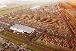 Das Unternehmen verfügt weltweit über Standorte, hier das Gelände Moerdijk in den Niederlanden.