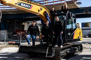 Das Mietpark Team von Flexcavo.