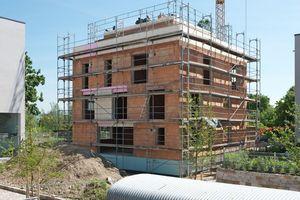 Jedes dritte in Deutschland im Jahr 2020 gebaute Wohnhaus besteht aus Mauerziegeln.