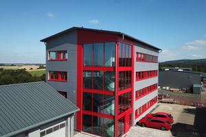 Am 7. September 2021 wurde das neue Bürogebäude im Industriepark Simmern eingeweiht.