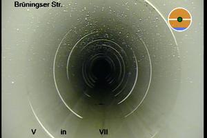 Abschließend erfolgte eine Abnahmeuntersuchung. Das Ergebnis ist ein betriebssicheres Rohr-in-Rohr-System.