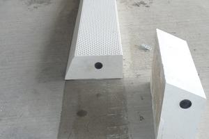 Schnell und zuverlässig aufgeklebt: Diese neuen Bordsteine erhöhen die Sicherheit.