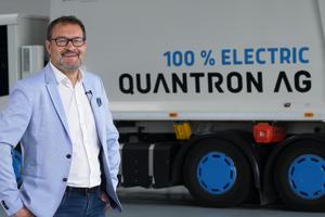 Michael Perschke, seit September 2021 CEO und Vorstand der Quantron AG.