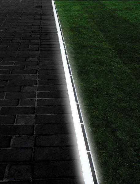Berühmt Schlitzrahmenentwässerung mit integrierter LED-Beleuchtung - THIS IY95