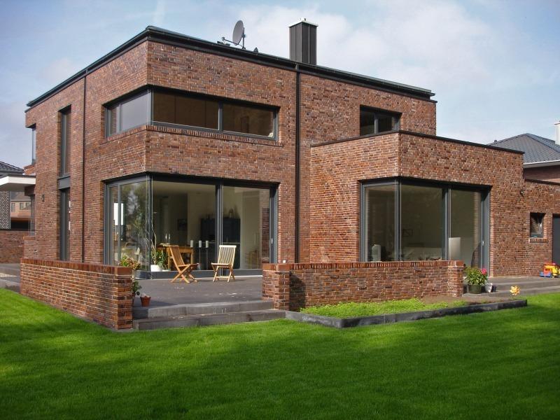 fassadengestaltung modern stein. Black Bedroom Furniture Sets. Home Design Ideas