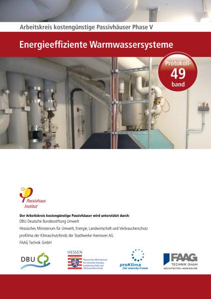 """THIS   Passivhaus Institut: """"Energieeffiziente Warmwassersysteme"""""""