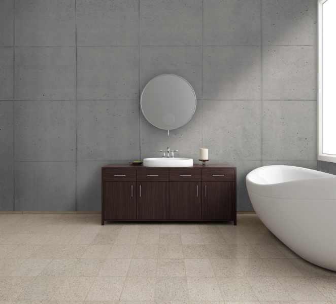 this wandverkleidung in beton und holzoptik. Black Bedroom Furniture Sets. Home Design Ideas