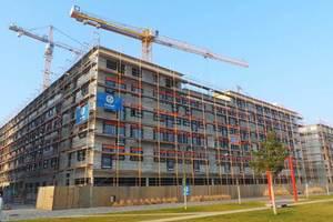 Im Referenz-Projekt Campus Gardens wurde der von Dressler Bau getaktete Bauzeitenplan problemlos in Sablono übertragen und als Grundlage für fortlaufende Soll-Ist-Vergleiche verwendet.<br /><br /><br /><br />