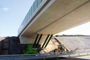 Beliefert wurden die Baustellen vom Betonwerk Bad Lausick
