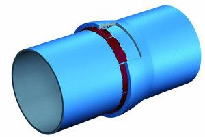 3Auf Grund des speziellen Anforderungsprofils entschied der Zweckverband Fernwasser Südsachsen Rohre aus duktilem Gusseisen nach DIN EN 545 mit der längskraftschlüssigen BLS-Steckmuffenverbindung einzusetzen