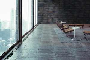 Die Wandflächen sind abriebfest, widerstandsfähig und gleichermaßen für Privaträume und Büroräume geeignet.