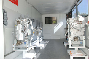 ZF Showtruck, Exponate