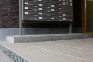 Im neuen Europaviertel in Frankfurt kamen gleich alle Recyfix-Rinnenarten von Hauraton zugleich zum Einsatz.