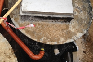 Innerhalb von einem Monat war die alte Anlage demontiert und der neue Schacht mit Hebeanlage eingebaut<br />
