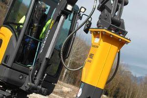 Hydraulikhammer HB02 für Kompaktmaschinen