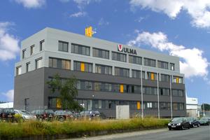 Neue Deutschland-Zentrale für Ulma: Im Juli haben die Mitarbeiter der Ulma Betonschalungen und Gerüste GmbH den neuen Standort im Industriegebiet Rödermark bezogen Foto: Ulma