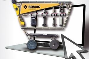 Der neue Onlineshop bietet Ersatzteile direkt von Bomag.<br />