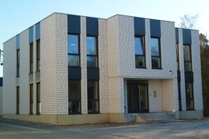 Neu erbaute Verwaltungszentrale in Haltern am See mit Unika Kalksandstein
